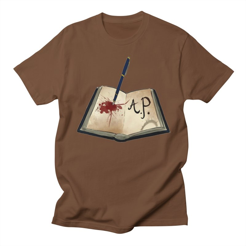 AP Logo ( Designed by Unapologetic Artist) Men's Regular T-Shirt by Augie's Attic