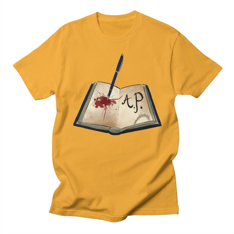 AP Logo ( Designed by Unapologetic Artist) Women's Regular Unisex T-Shirt by Augie's Attic