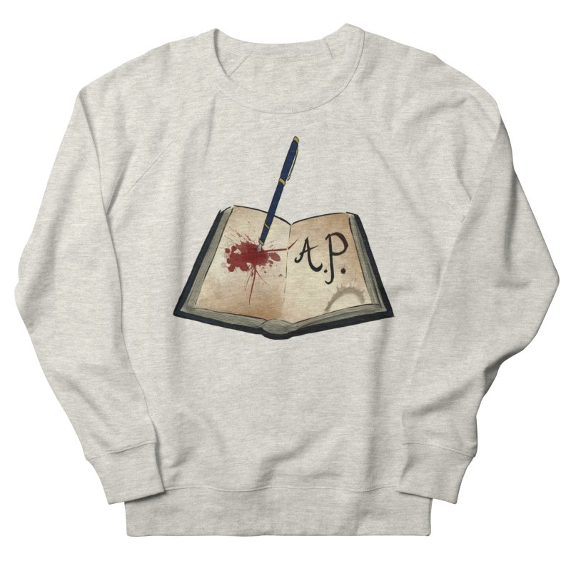 AP Logo ( Designed by Unapologetic Artist) Women's French Terry Sweatshirt by Augie's Attic