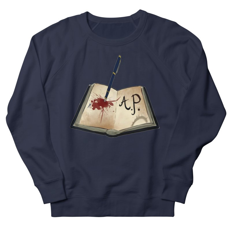 AP Logo ( Designed by Unapologetic Artist) Men's French Terry Sweatshirt by Augie's Attic