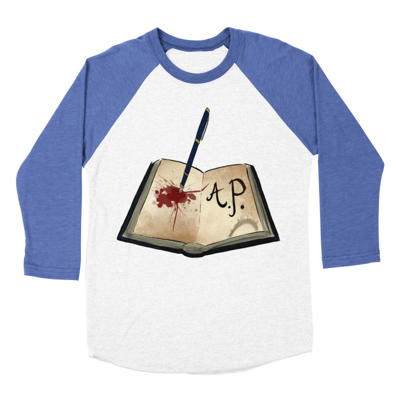 AP Logo ( Designed by Unapologetic Artist) Women's Baseball Triblend Longsleeve T-Shirt by Augie's Attic