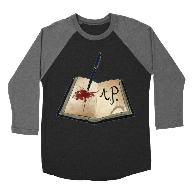 AP Logo ( Designed by Unapologetic Artist) Men's Baseball Triblend Longsleeve T-Shirt by Augie's Attic
