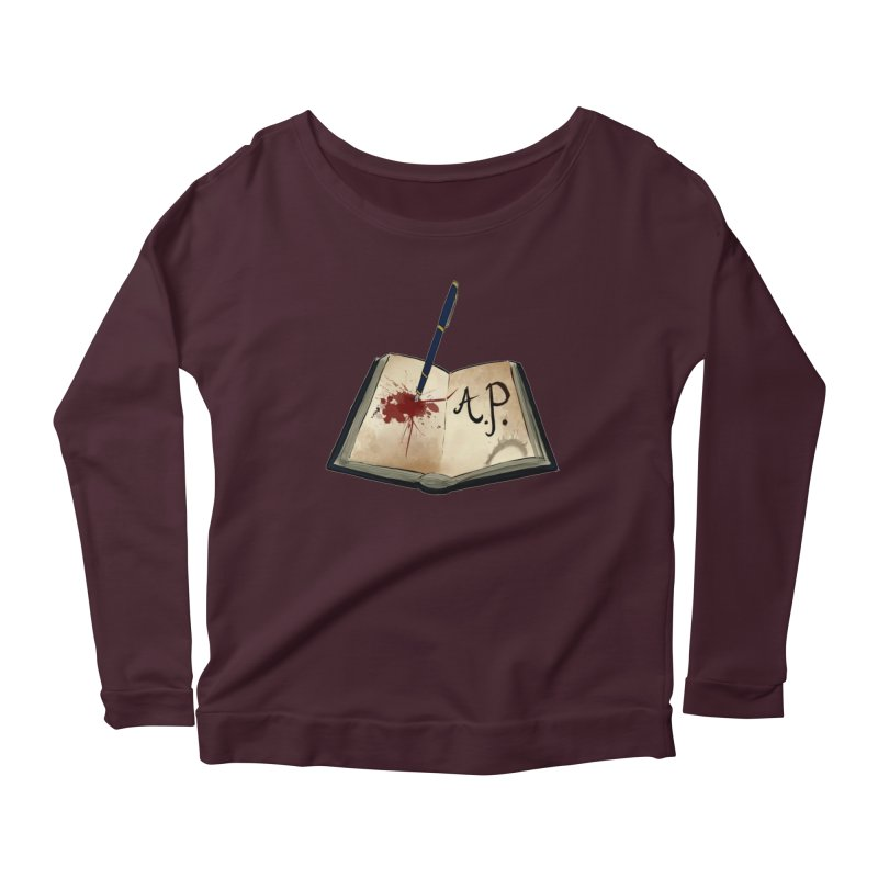 AP Logo ( Designed by Unapologetic Artist) Women's Longsleeve T-Shirt by Augie's Attic