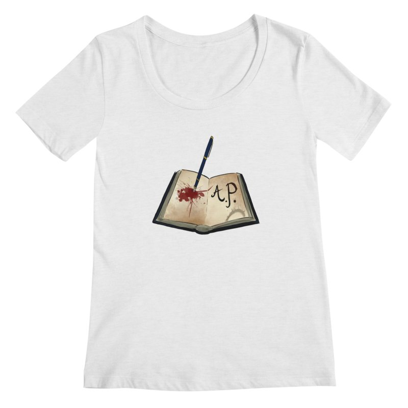 AP Logo ( Designed by Unapologetic Artist) Women's Scoop Neck by Augie's Attic