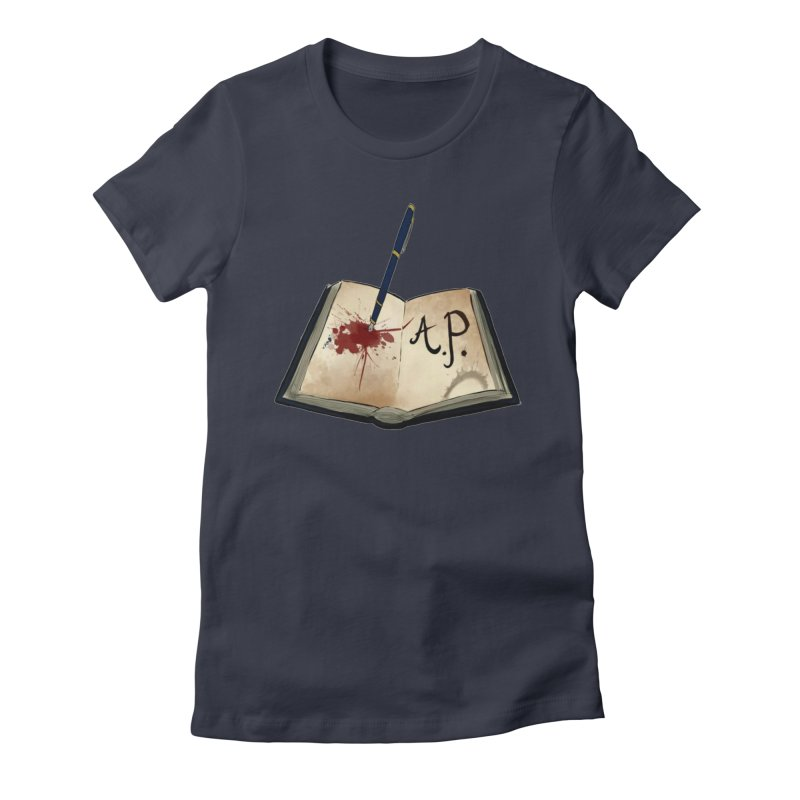 AP Logo ( Designed by Unapologetic Artist) Women's Fitted T-Shirt by Augie's Attic