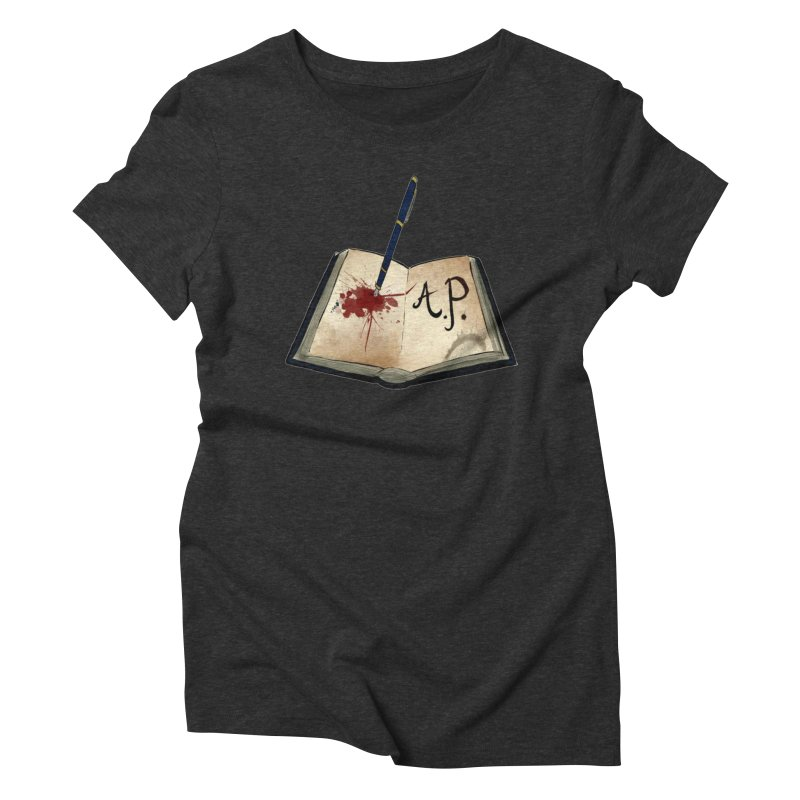 AP Logo ( Designed by Unapologetic Artist) Women's Triblend T-Shirt by Augie's Attic