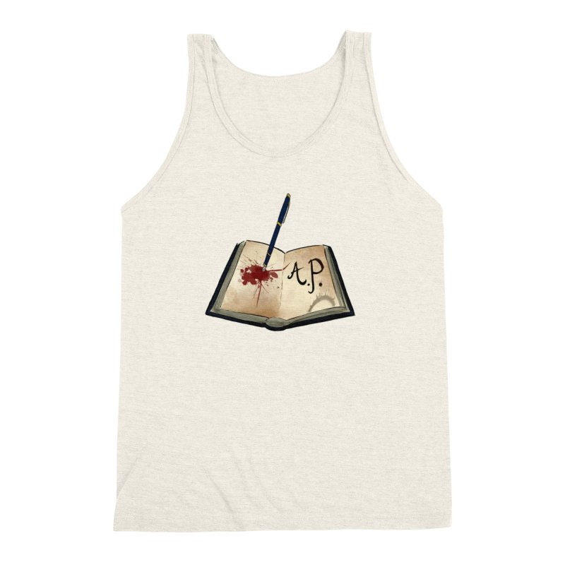 AP Logo ( Designed by Unapologetic Artist) Men's Triblend Tank by Augie's Attic