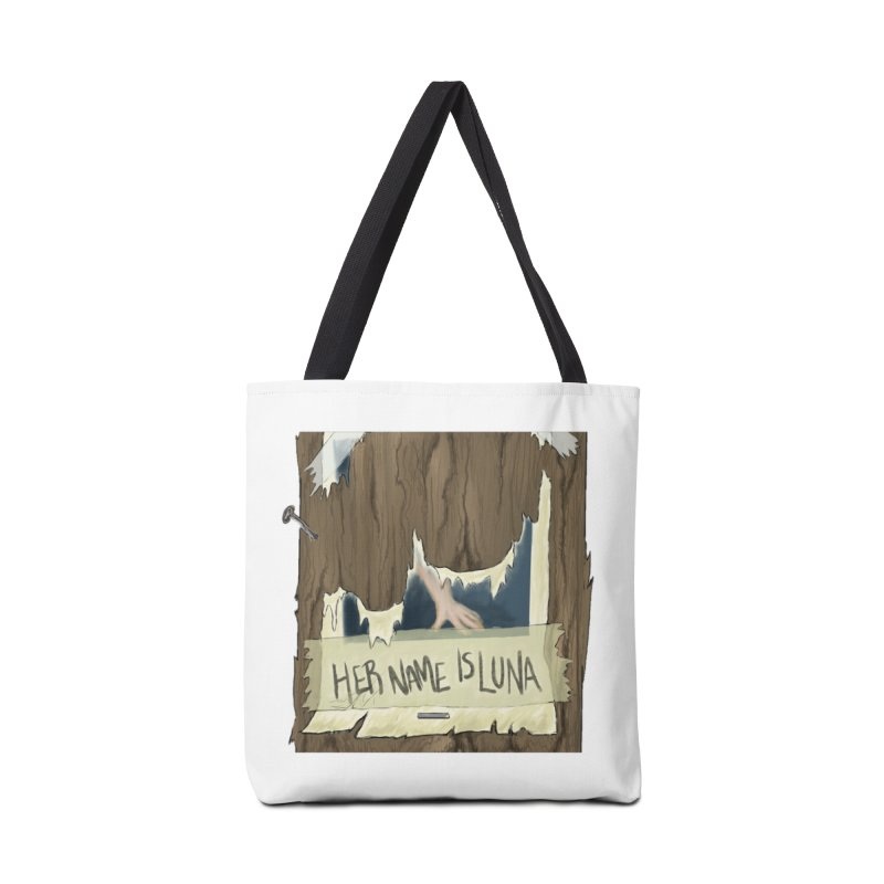Her Name is Luna (Designed by Unapologetic Artist) Accessories Tote Bag Bag by Augie's Attic