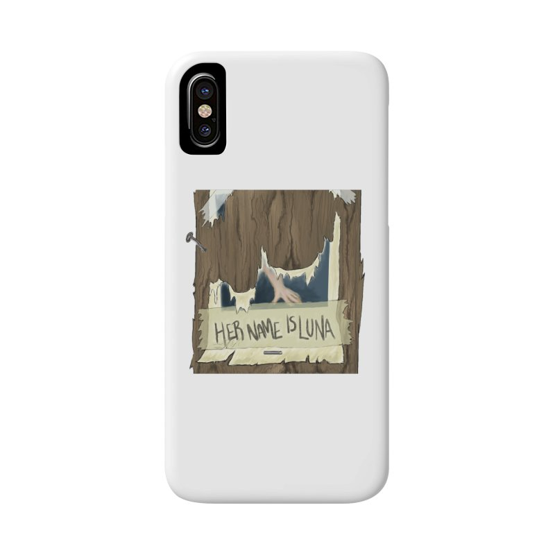 Her Name is Luna (Designed by Unapologetic Artist) Accessories Phone Case by Augie's Attic