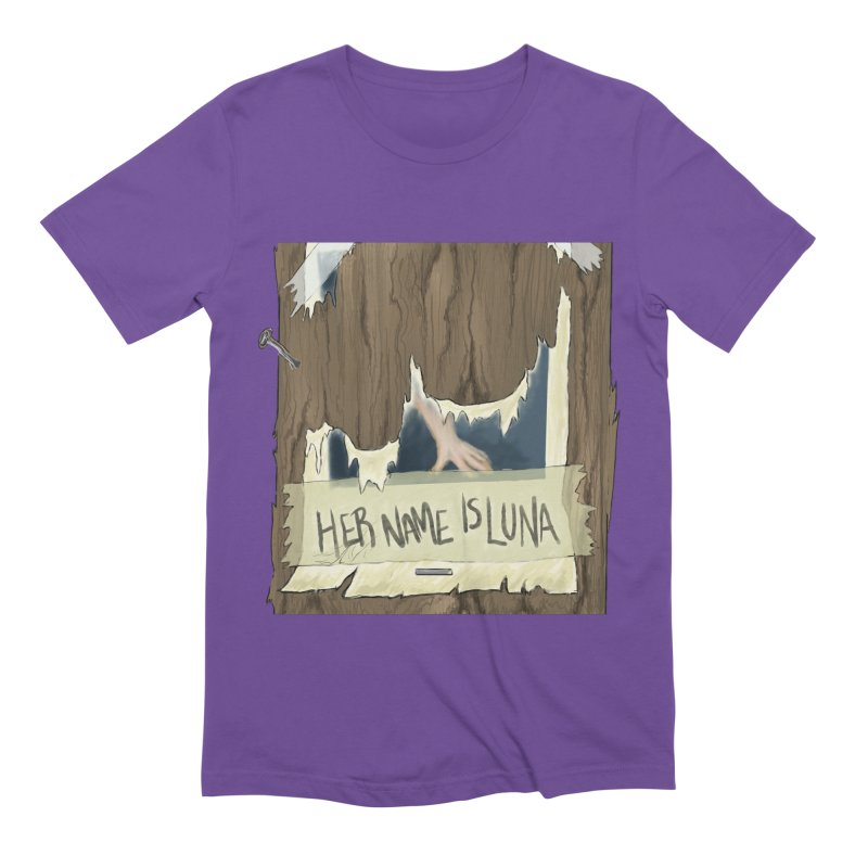 Her Name is Luna (Designed by Unapologetic Artist) Men's Extra Soft T-Shirt by Augie's Attic
