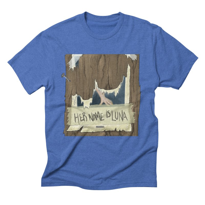Her Name is Luna (Designed by Unapologetic Artist) Men's T-Shirt by Augie's Attic