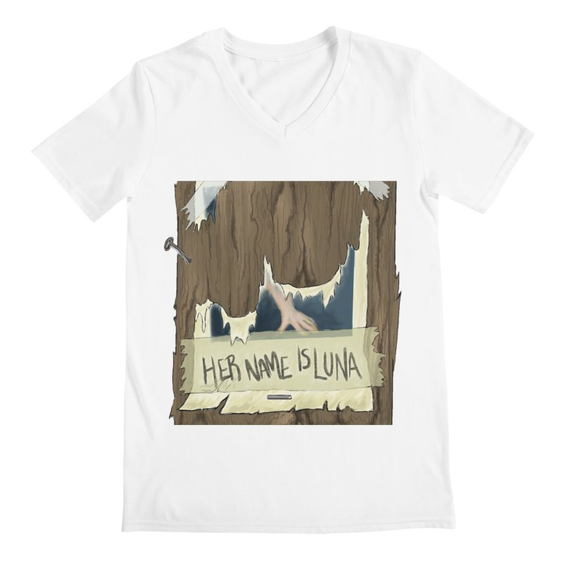 Her Name is Luna (Designed by Unapologetic Artist) Men's V-Neck by Augie's Attic