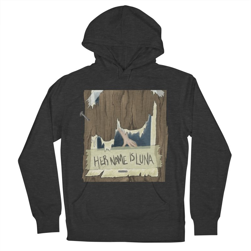 Her Name is Luna (Designed by Unapologetic Artist) Women's French Terry Pullover Hoody by Augie's Attic