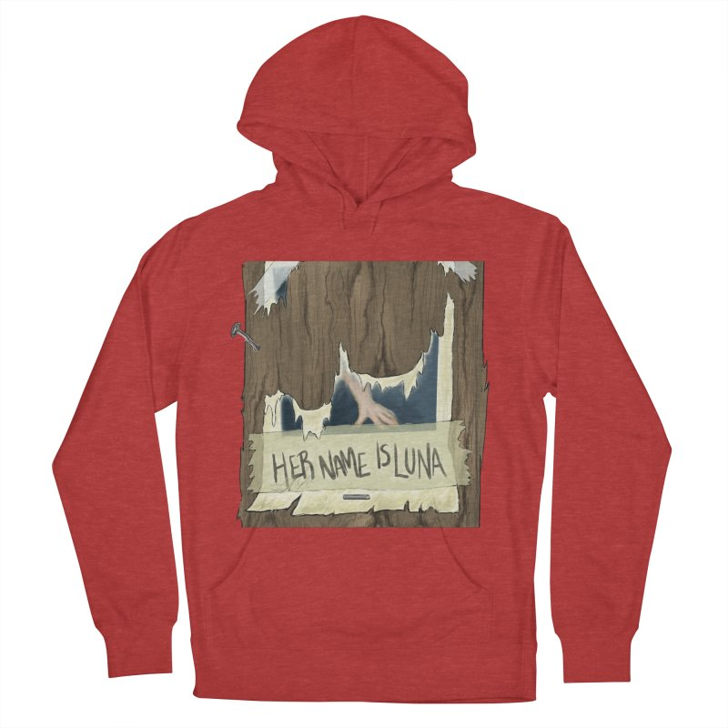 Her Name is Luna (Designed by Unapologetic Artist) Men's French Terry Pullover Hoody by Augie's Attic