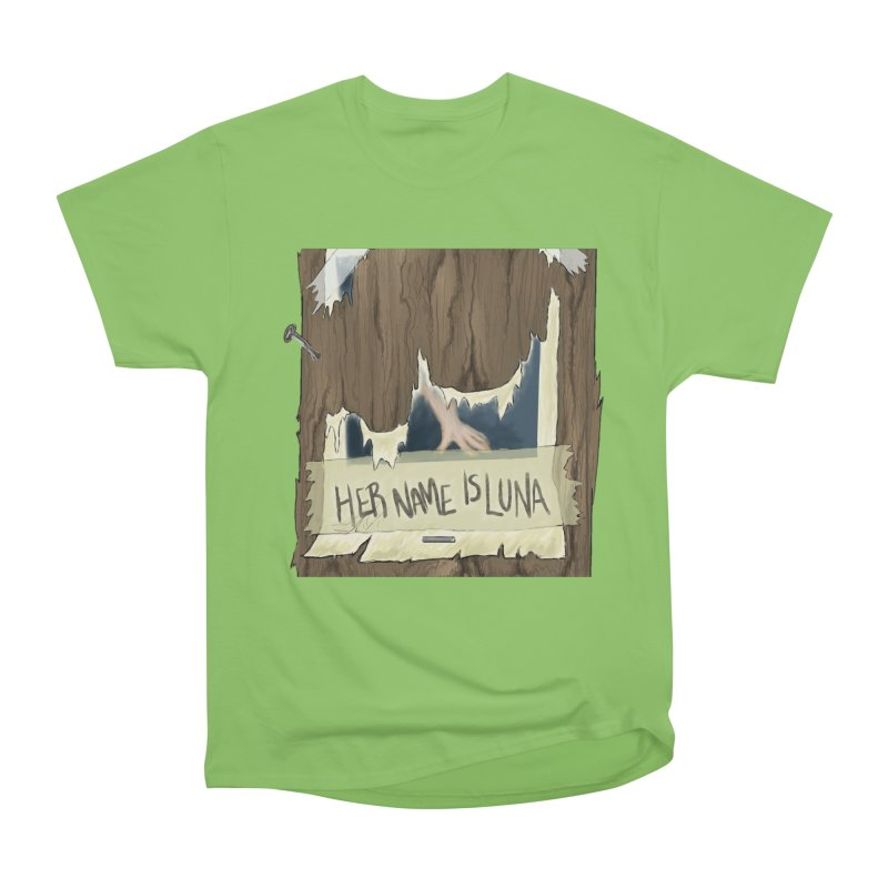 Her Name is Luna (Designed by Unapologetic Artist) Men's Heavyweight T-Shirt by Augie's Attic