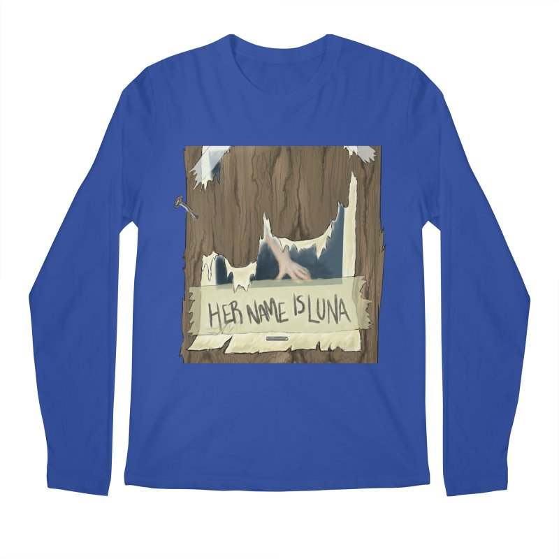 Her Name is Luna (Designed by Unapologetic Artist) Men's Regular Longsleeve T-Shirt by Augie's Attic