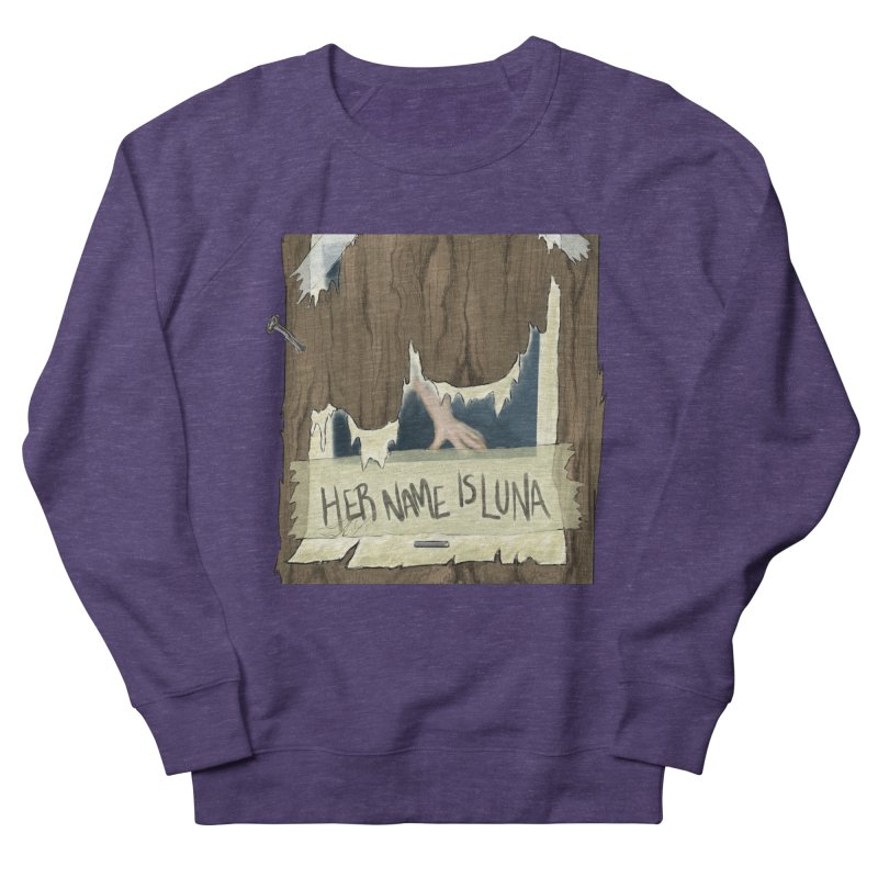 Her Name is Luna (Designed by Unapologetic Artist) Men's French Terry Sweatshirt by Augie's Attic