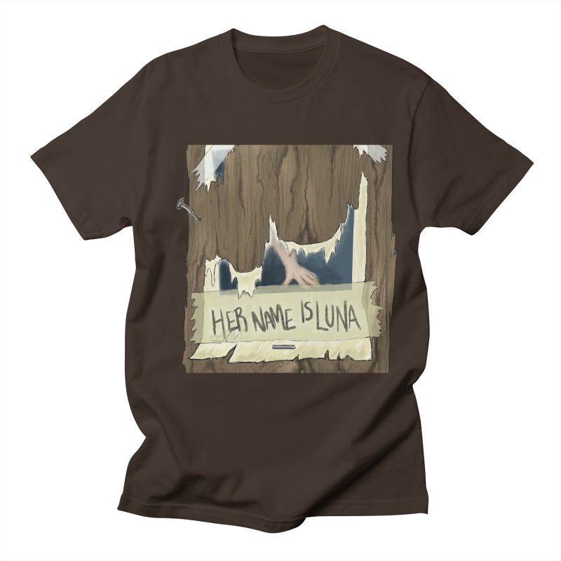 Her Name is Luna (Designed by Unapologetic Artist) Men's Regular T-Shirt by Augie's Attic