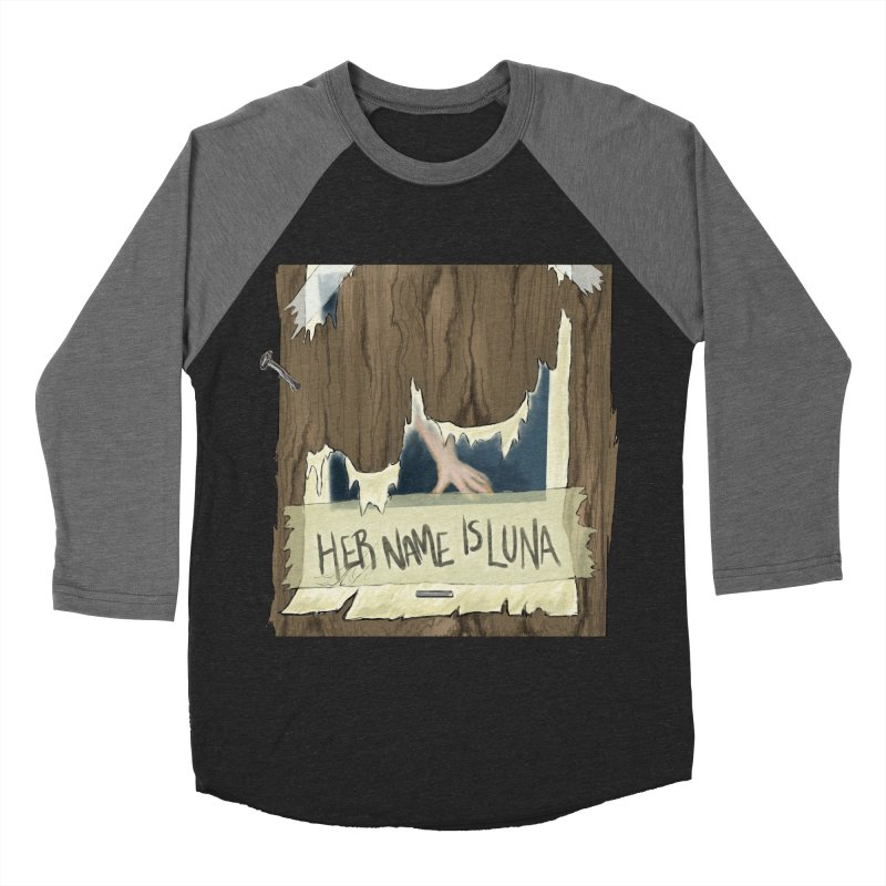 Her Name is Luna (Designed by Unapologetic Artist) Men's Baseball Triblend Longsleeve T-Shirt by Augie's Attic