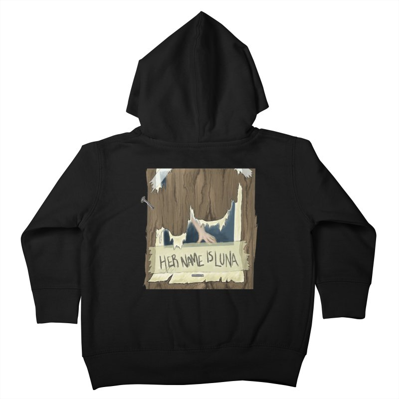 Her Name is Luna (Designed by Unapologetic Artist) Kids Toddler Zip-Up Hoody by Augie's Attic