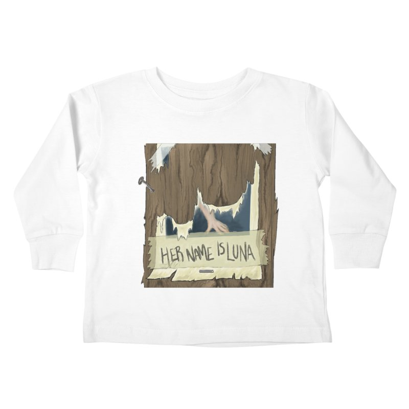 Her Name is Luna (Designed by Unapologetic Artist) Kids Toddler Longsleeve T-Shirt by Augie's Attic