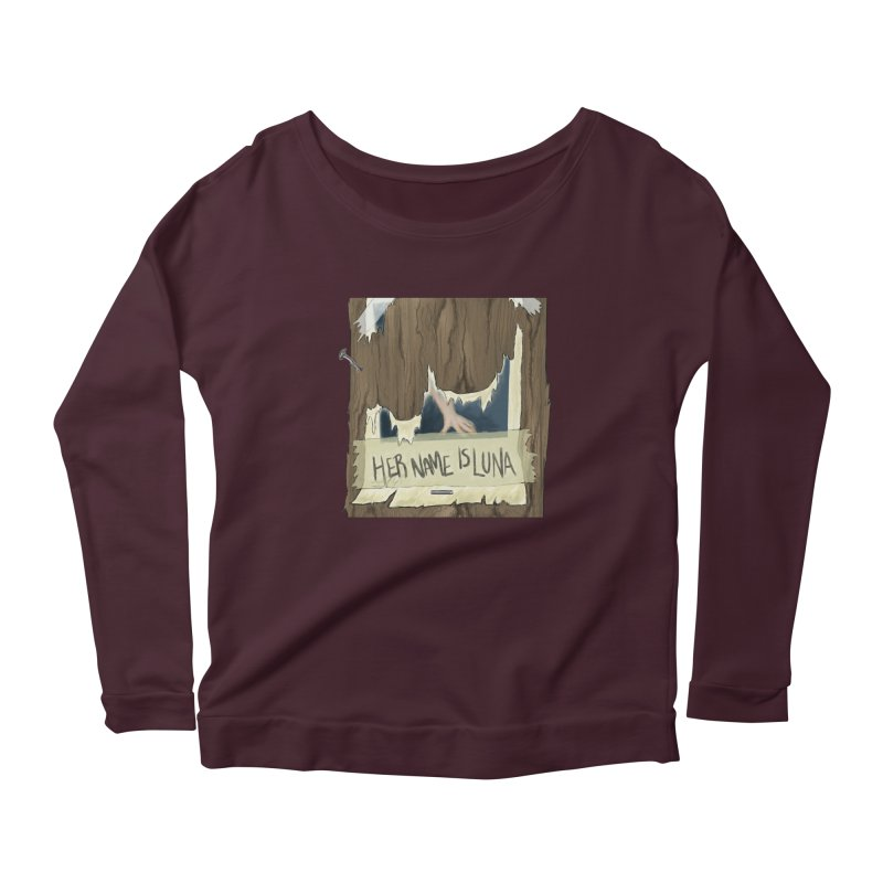 Her Name is Luna (Designed by Unapologetic Artist) Women's Longsleeve T-Shirt by Augie's Attic