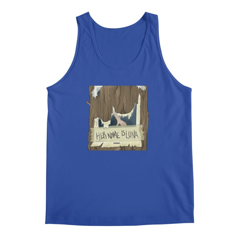Her Name is Luna (Designed by Unapologetic Artist) Men's Regular Tank by Augie's Attic