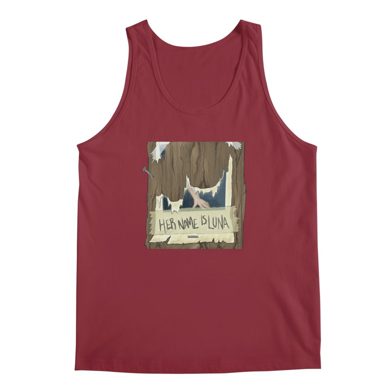Her Name is Luna (Designed by Unapologetic Artist) Men's Tank by Augie's Attic