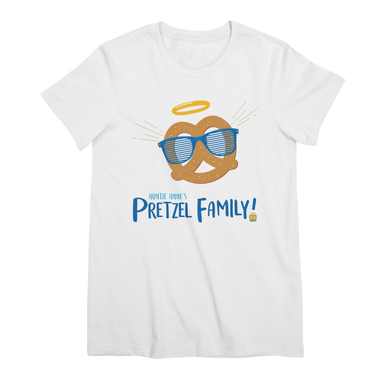 Pretzel Family Women's Premium T-Shirt by AuntieAnne's Artist Shop