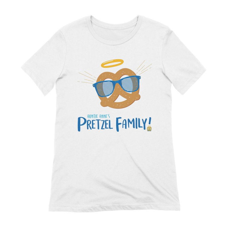Pretzel Family Women's Extra Soft T-Shirt by AuntieAnne's Artist Shop
