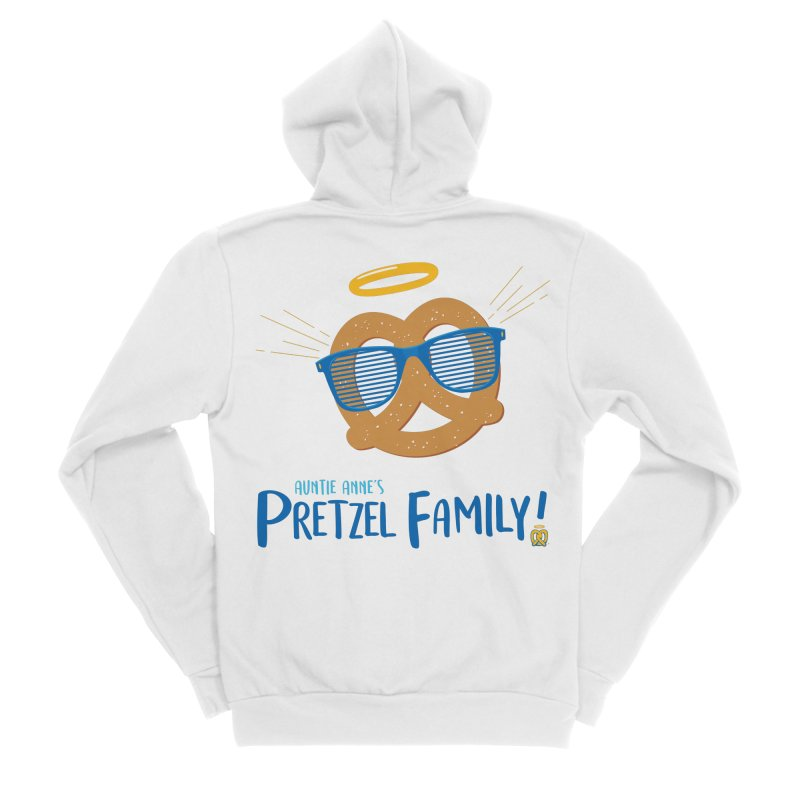 Pretzel Family Women's Zip-Up Hoody by AuntieAnne's Artist Shop