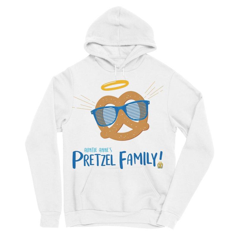 Pretzel Family Men's Sponge Fleece Pullover Hoody by AuntieAnne's Artist Shop