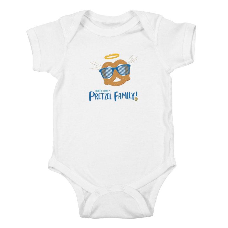 Pretzel Family Kids Baby Bodysuit by AuntieAnne's Artist Shop