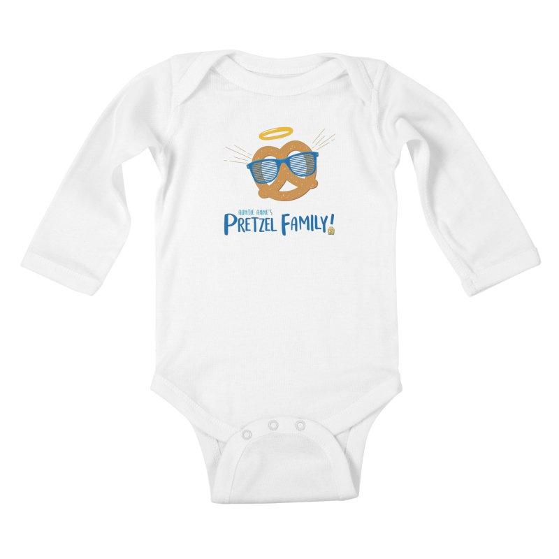 Pretzel Family Kids Baby Longsleeve Bodysuit by AuntieAnne's Artist Shop