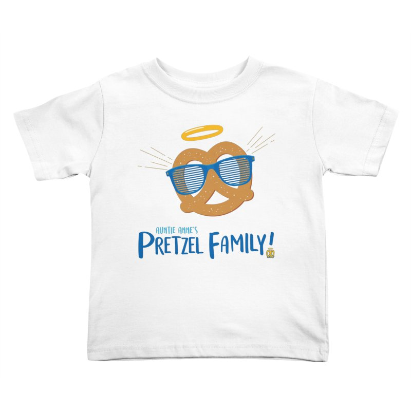 Pretzel Family Kids Toddler T-Shirt by AuntieAnne's Artist Shop