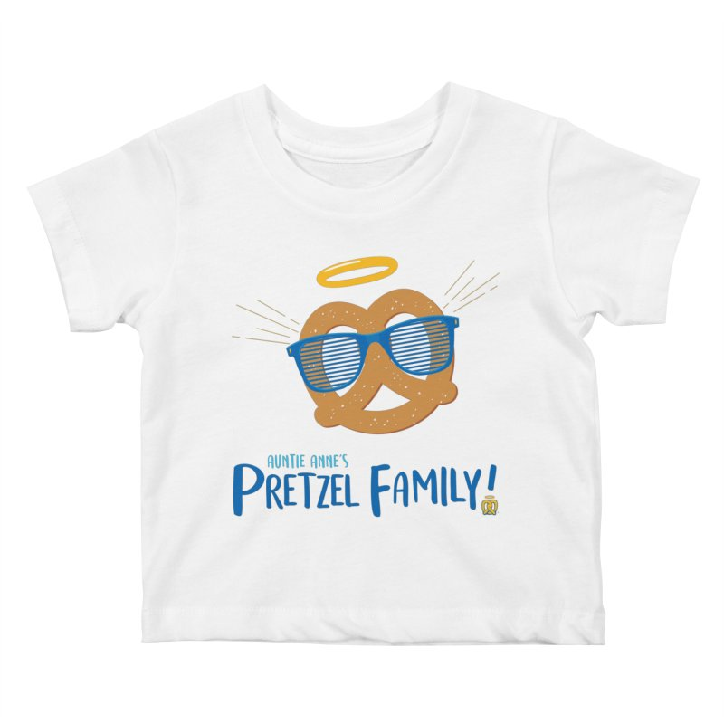 Pretzel Family Kids Baby T-Shirt by AuntieAnne's Artist Shop