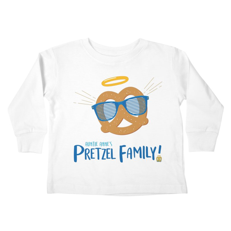 Pretzel Family Kids Toddler Longsleeve T-Shirt by AuntieAnne's Artist Shop