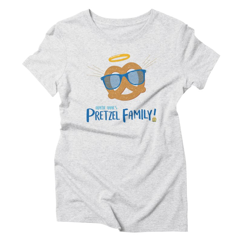 Pretzel Family Women's T-Shirt by AuntieAnne's Artist Shop