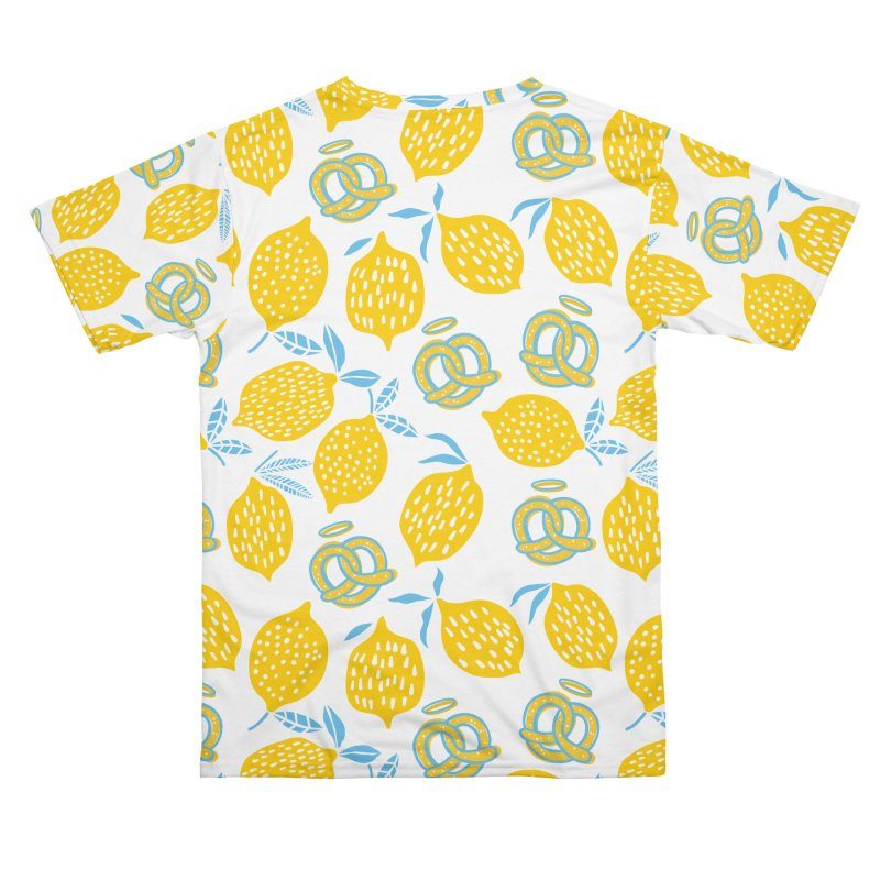 Modern Pretzels & Lemons Men's Cut & Sew by AuntieAnne's Artist Shop