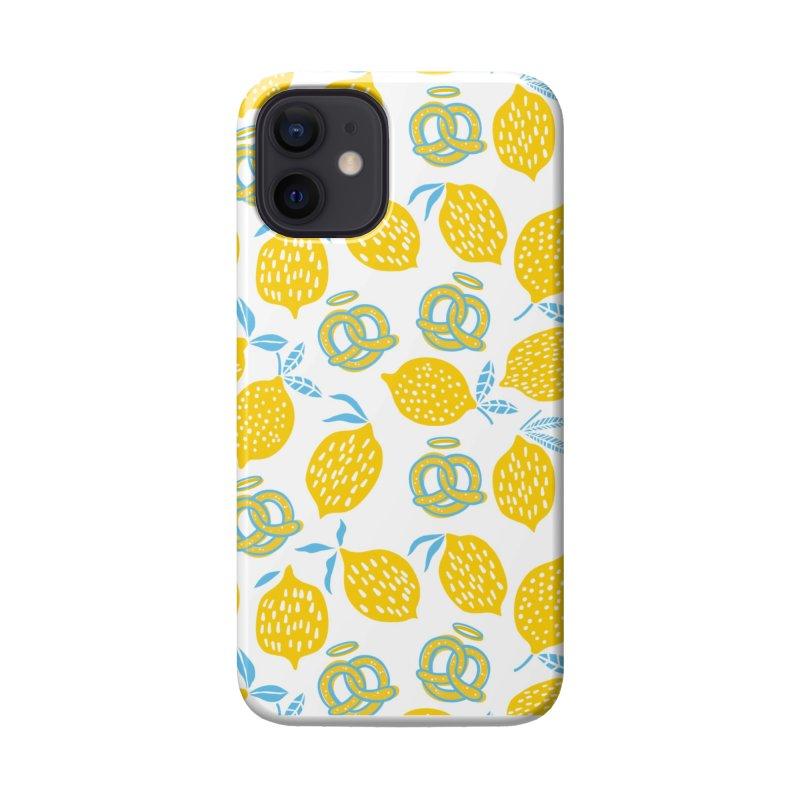 Modern Pretzels & Lemons Accessories Phone Case by AuntieAnne's Artist Shop