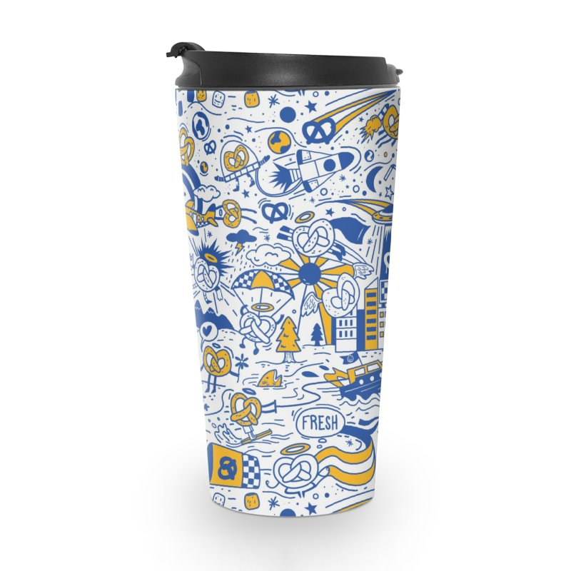 A Twisted Day Accessories Travel Mug by AuntieAnne's Artist Shop