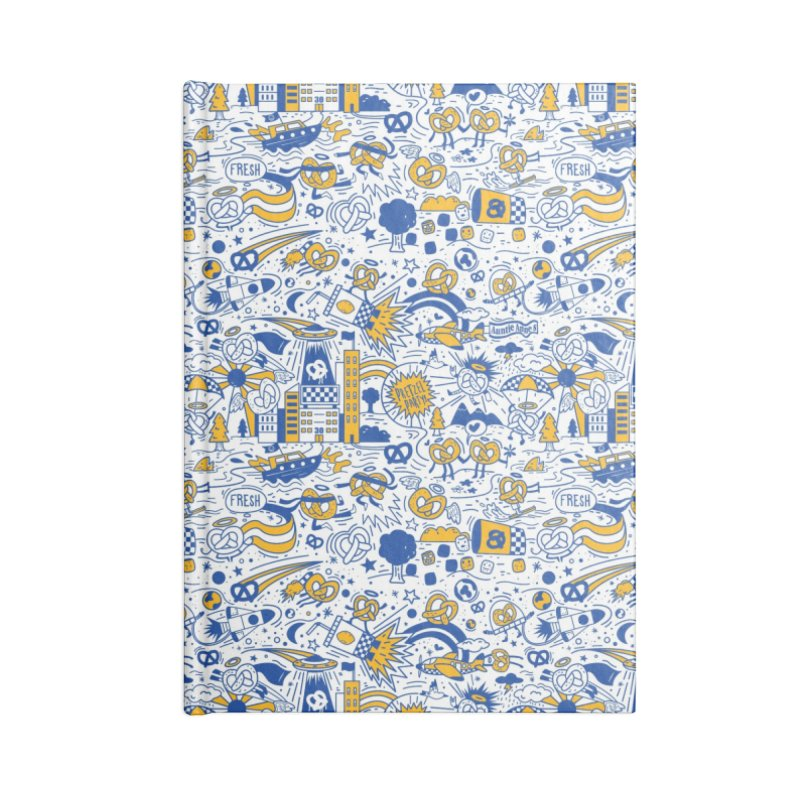 A Twisted Day Accessories Notebook by AuntieAnne's Artist Shop