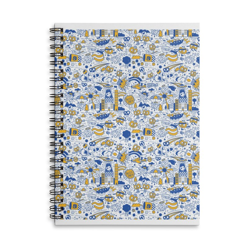 A Twisted Day Accessories Lined Spiral Notebook by AuntieAnne's Artist Shop