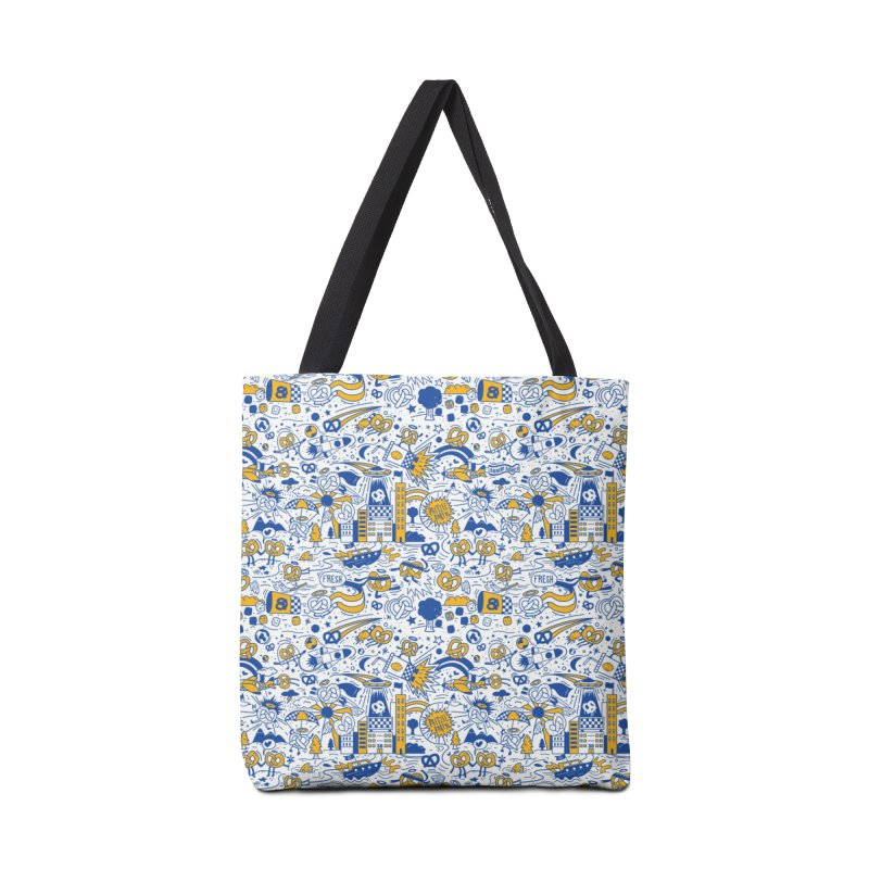 A Twisted Day Accessories Bag by AuntieAnnes's Artist Shop
