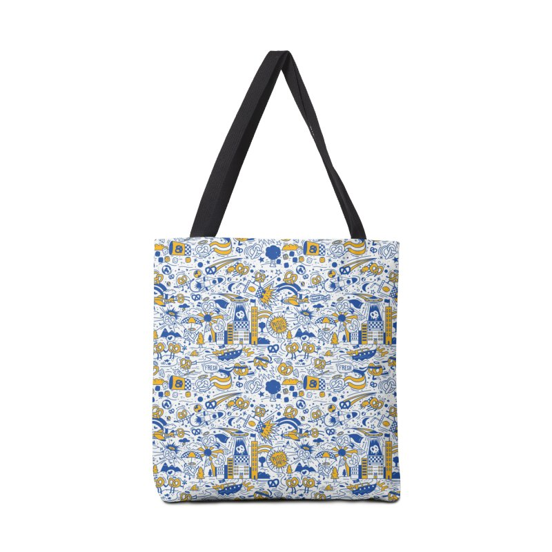 A Twisted Day Accessories Bag by AuntieAnne's Artist Shop