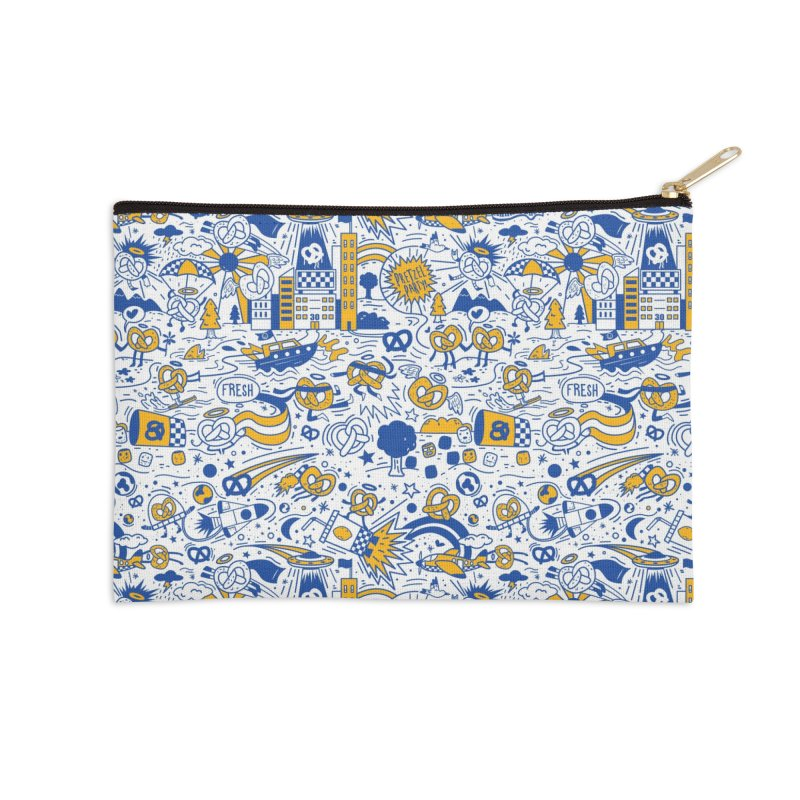 A Twisted Day Accessories Zip Pouch by AuntieAnnes's Artist Shop