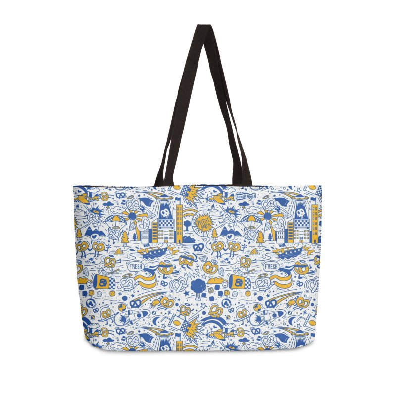 A Twisted Day Accessories Weekender Bag Bag by AuntieAnne's Artist Shop