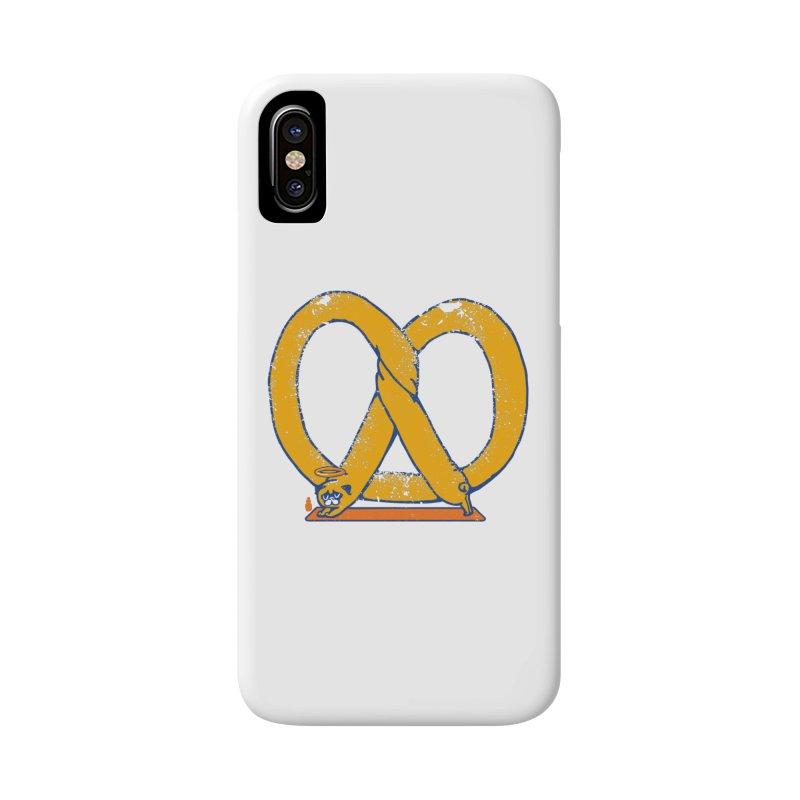 Pretzel Pug Yoga Accessories Phone Case by AuntieAnnes's Artist Shop
