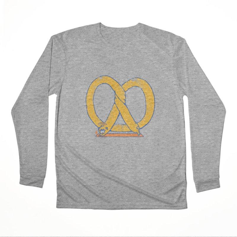 Pretzel Pug Yoga Men's Performance Longsleeve T-Shirt by AuntieAnne's Artist Shop