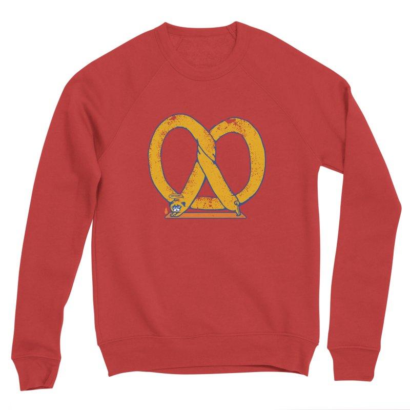 Pretzel Pug Yoga Men's Sponge Fleece Sweatshirt by AuntieAnne's Artist Shop